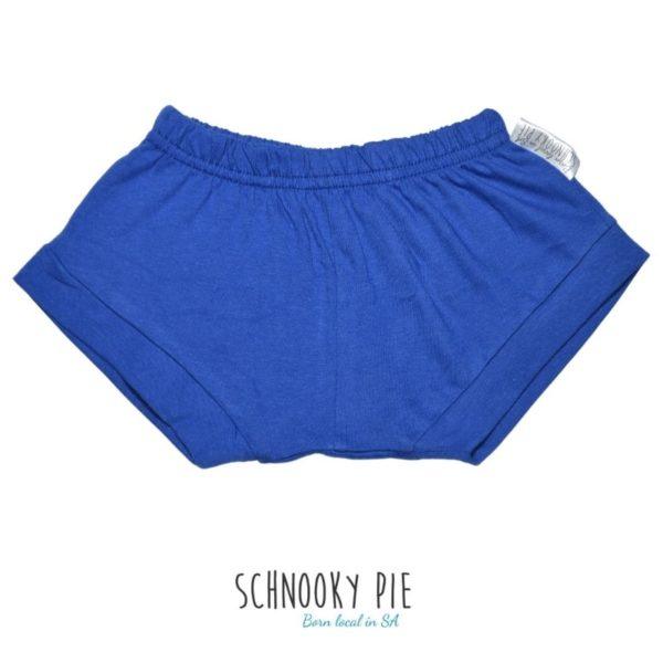 Royal blue summer shorts